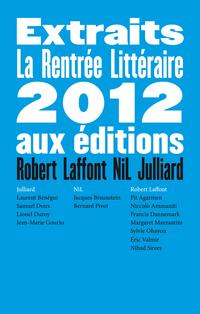 Extraits Rentrée Littéraire 2012