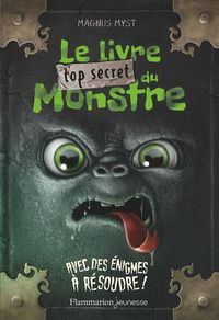 Le livre top secret du monstre