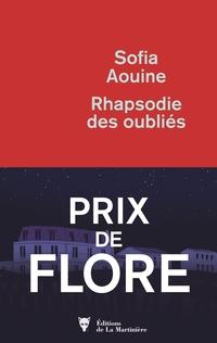 Rhapsodie des oubliés - Prix de Flore 2019